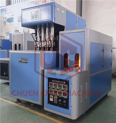 High Speed PET Bottle Blow Molding Machine Pneumatic / Servo Motor Driven