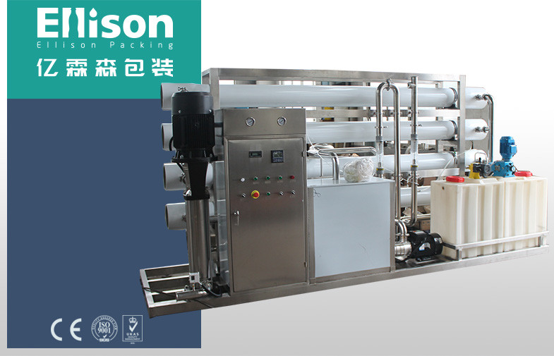 Inline Pure Water Processing Purification And Sterilizing System Small Scale